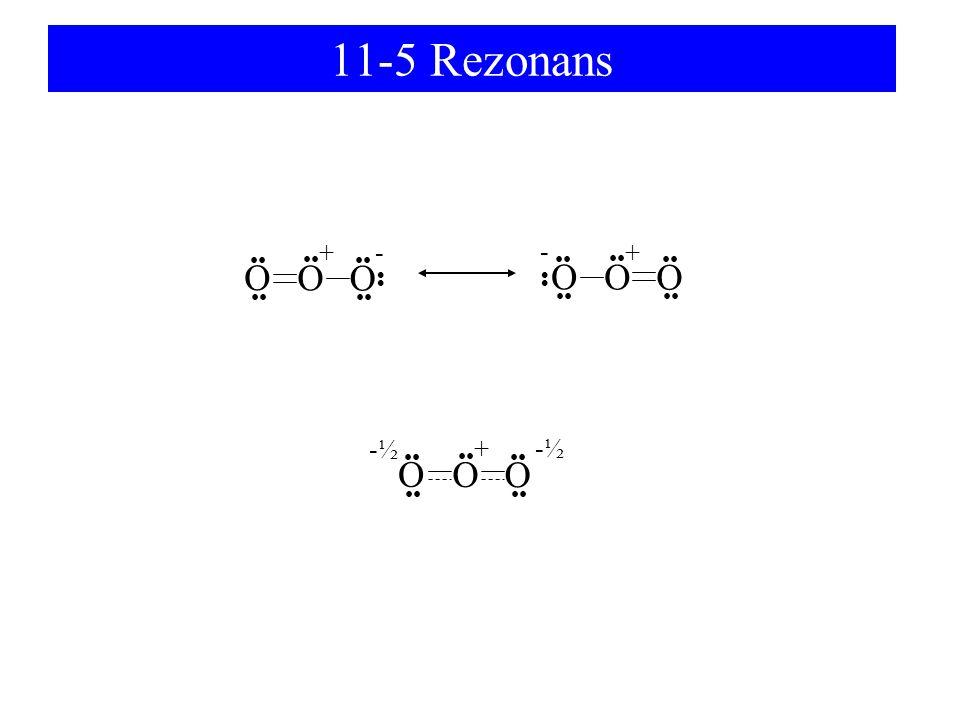 11-5 Rezonans O O O O O O O + - - + + -½ •• •• •• •• •• •• •• •• •• ••
