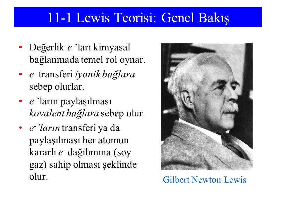 11-1 Lewis Teorisi: Genel Bakış
