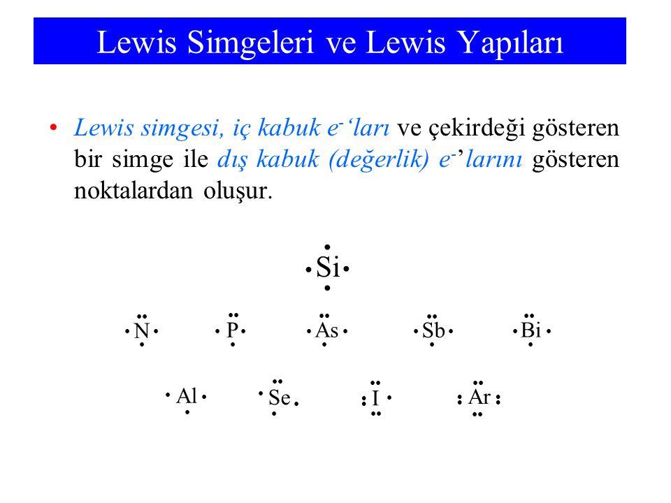 Lewis Simgeleri ve Lewis Yapıları
