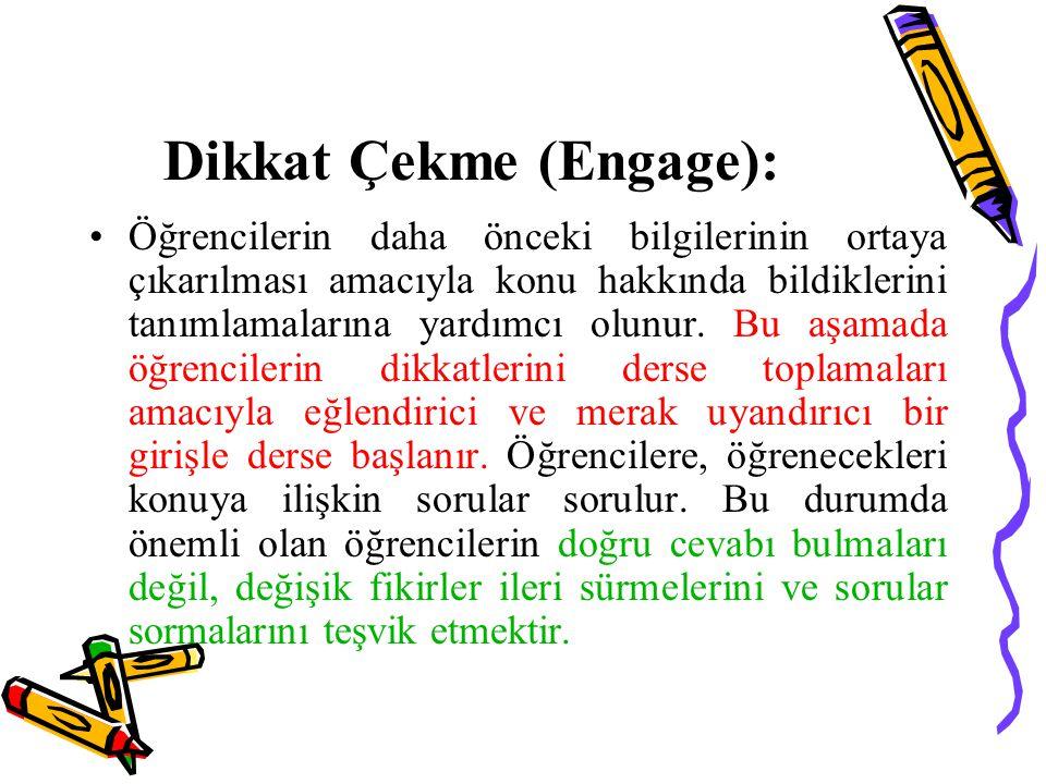 Dikkat Çekme (Engage):