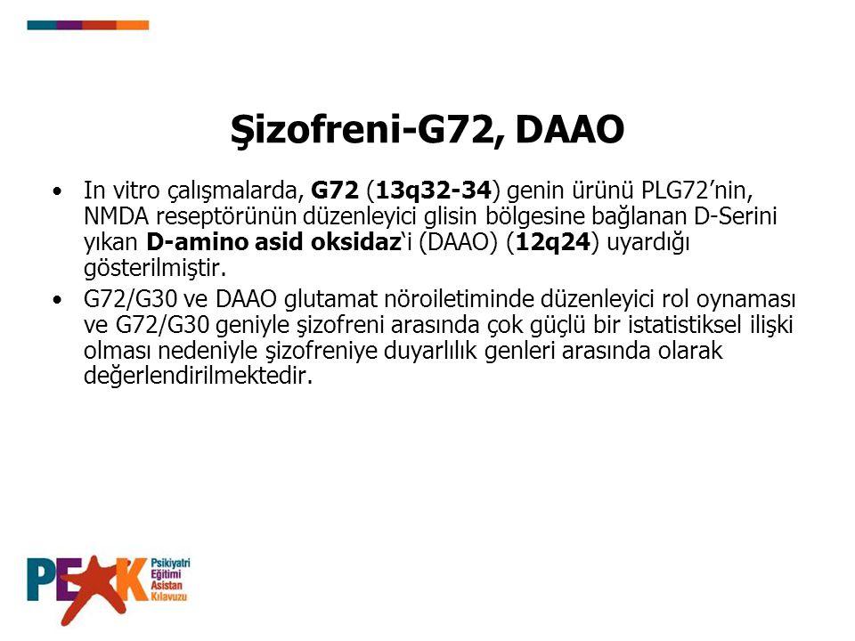 Şizofreni-G72, DAAO