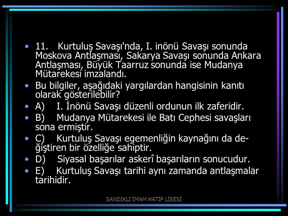 SANDIKLI İMAM HATİP LİSESİ