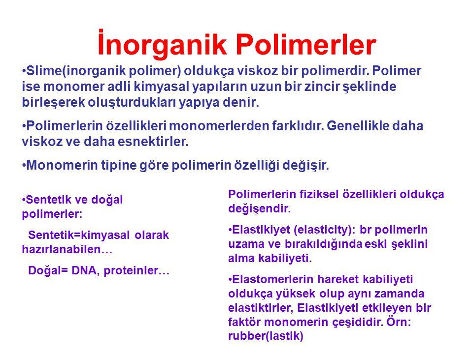 İnorganik Polimerler