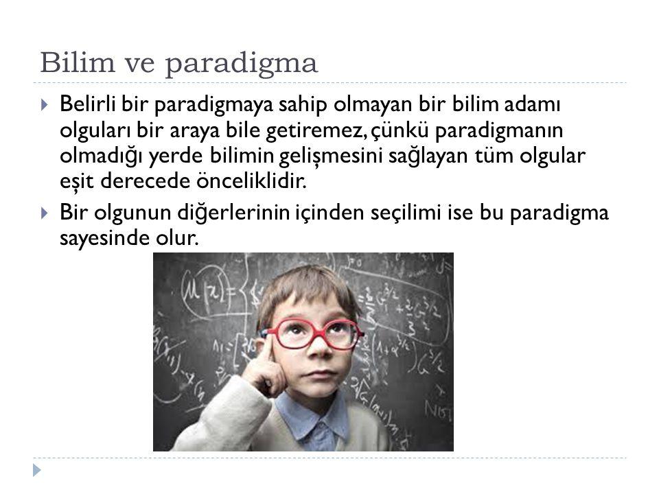 Bilim ve paradigma