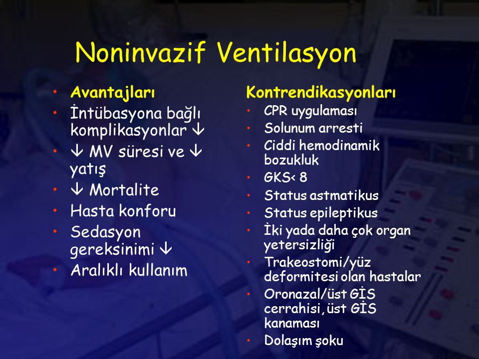 Noninvazif Ventilasyon