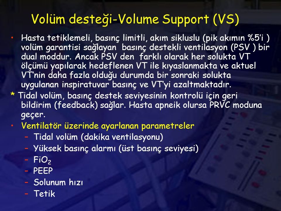 Volüm desteği-Volume Support (VS)