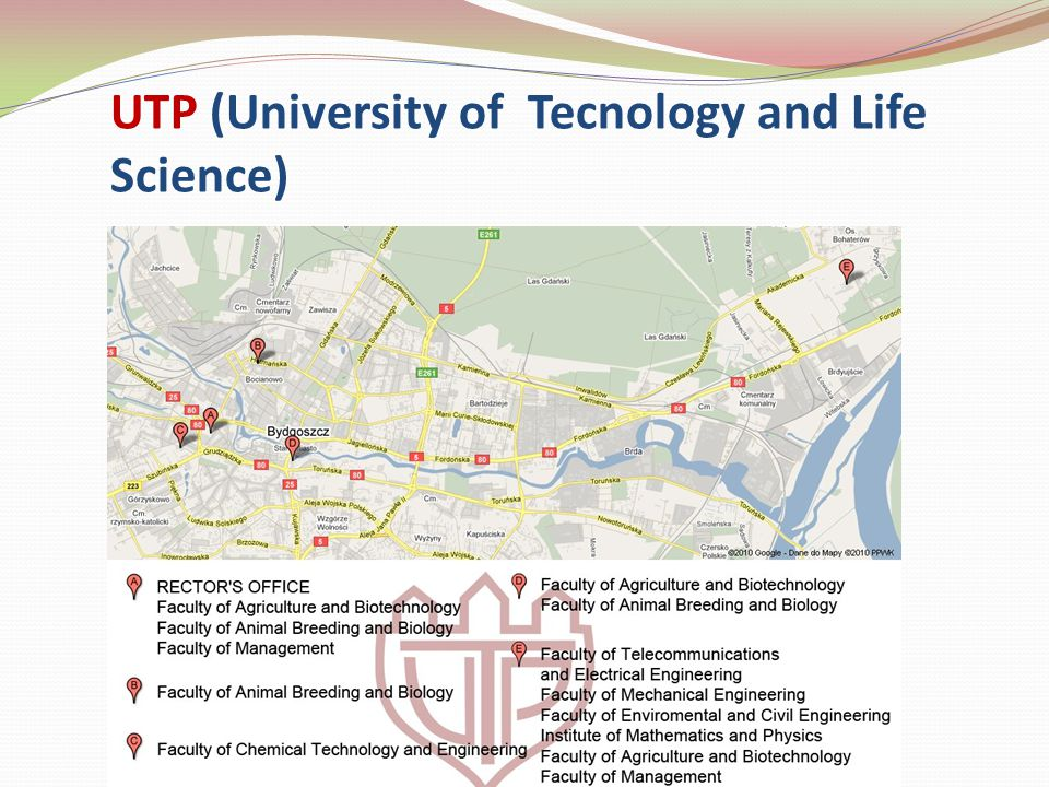 UTP (University of Tecnology and Life Science)