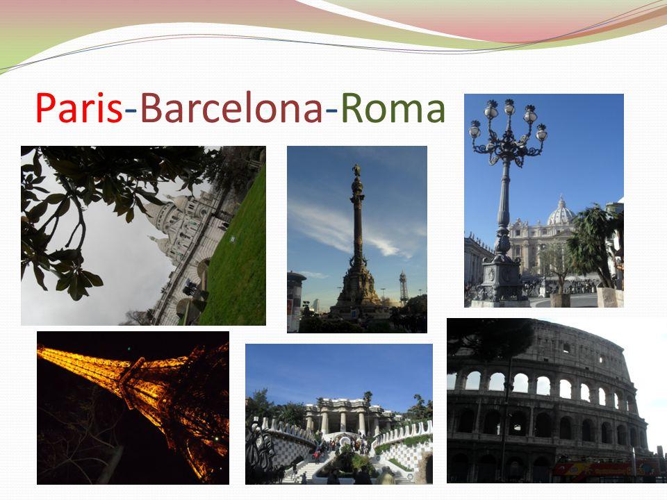 Paris-Barcelona-Roma