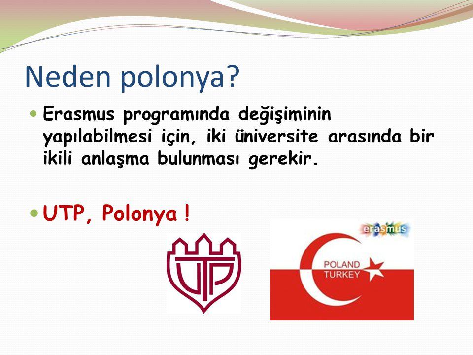 Neden polonya UTP, Polonya !