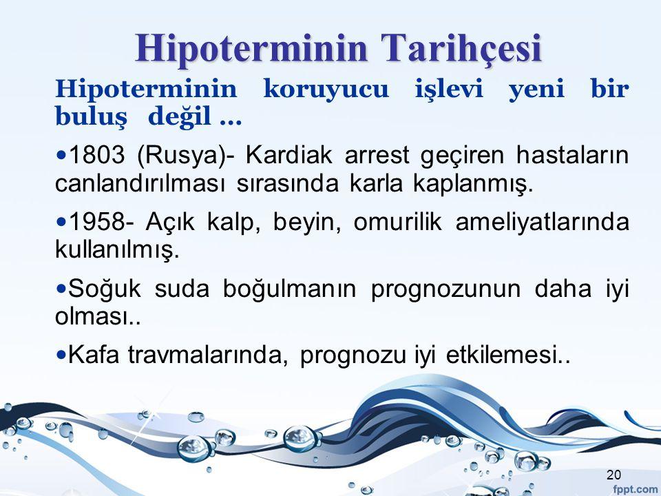 Hipoterminin Tarihçesi