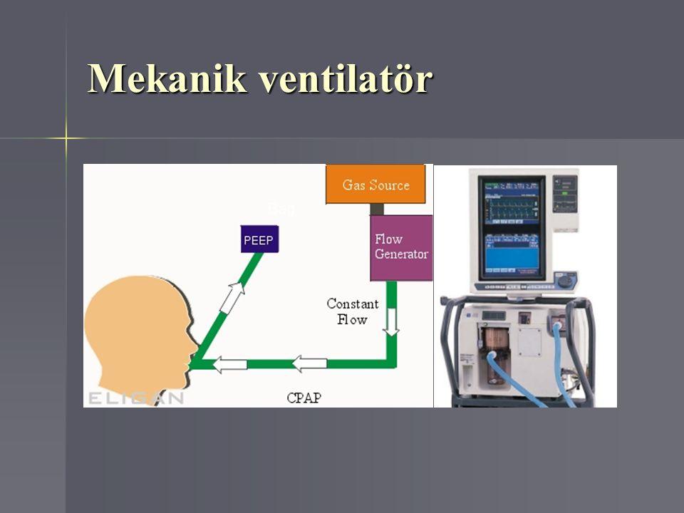 Mekanik ventilatör