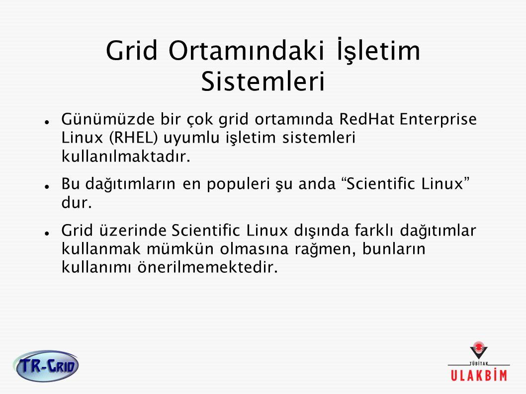 Grid Ortamındaki İşletim Sistemleri