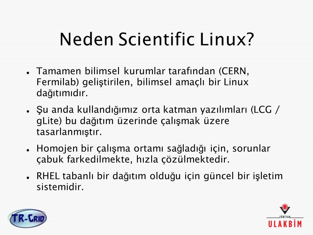 Neden Scientific Linux