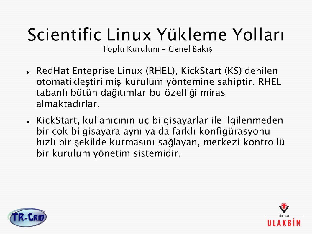 Scientific Linux Yükleme Yolları Toplu Kurulum – Genel Bakış
