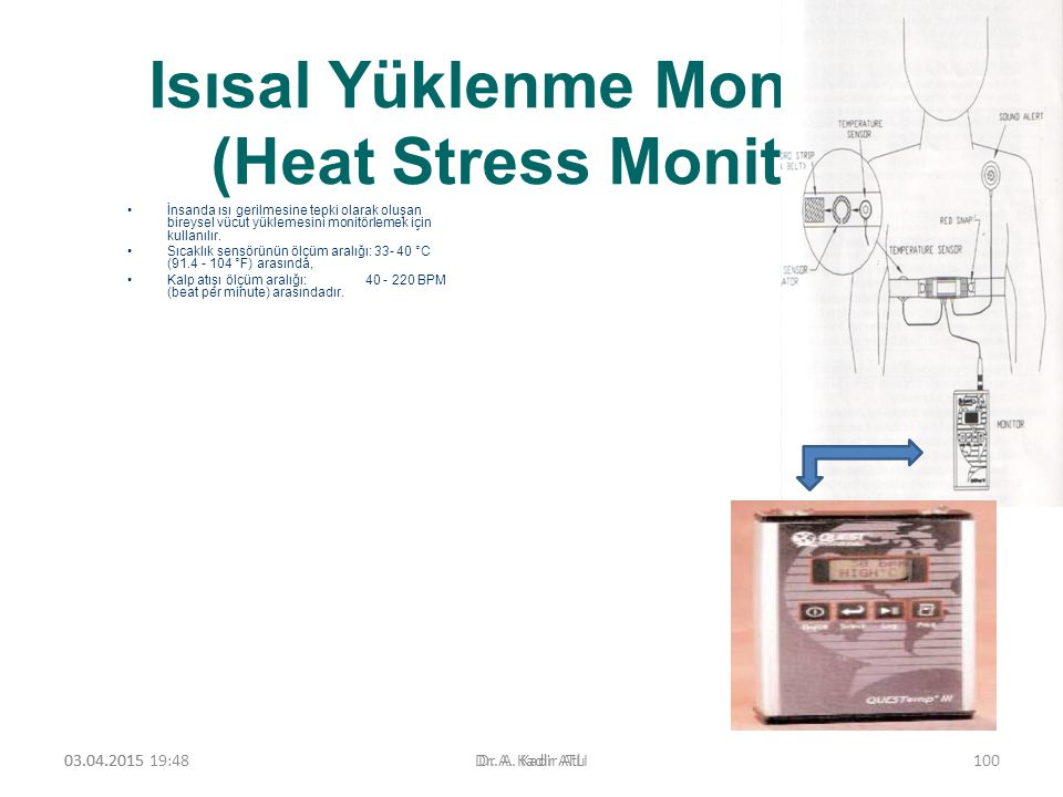 Isısal Yüklenme Monitörü (Heat Stress Monitor)