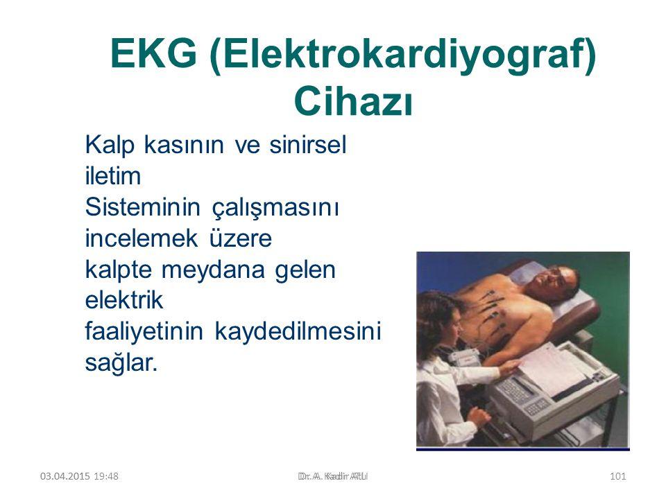 EKG (Elektrokardiyograf) Cihazı