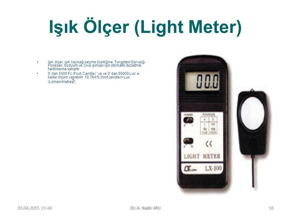 Işık Ölçer (Light Meter)
