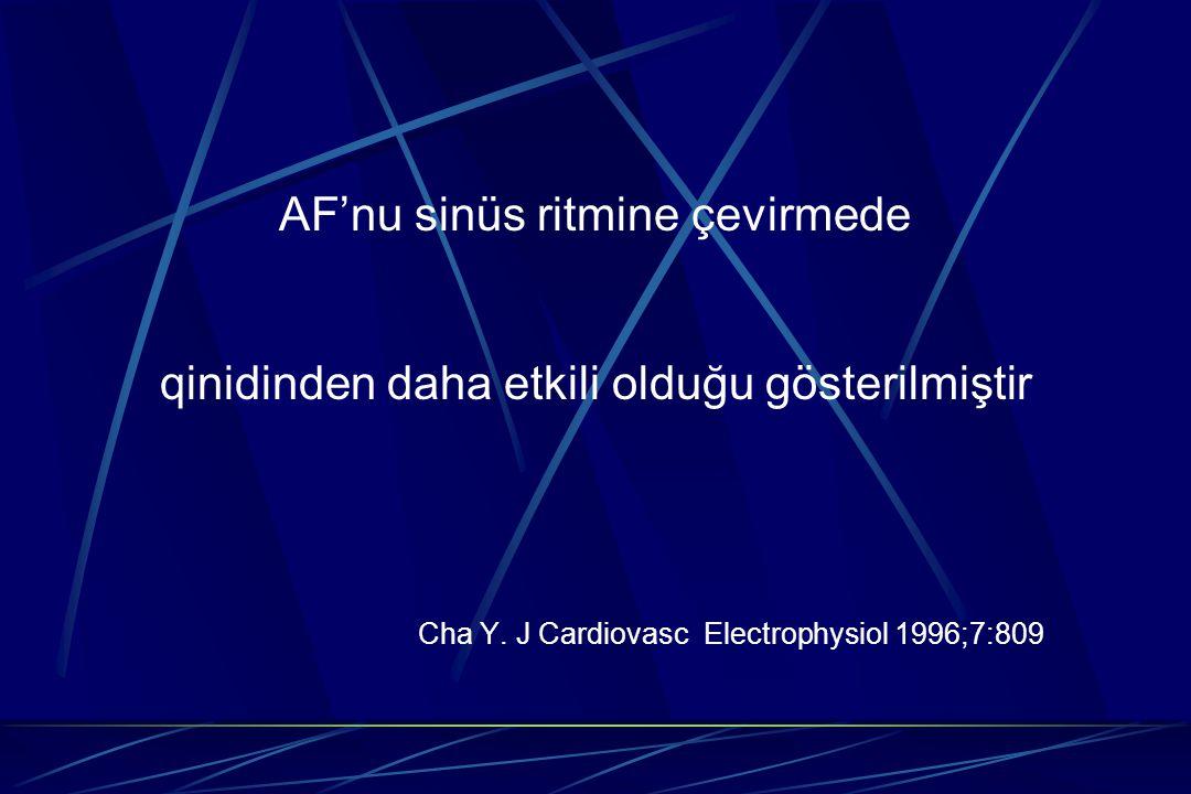 AF'nu sinüs ritmine çevirmede