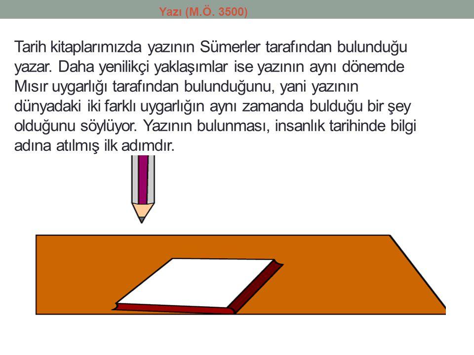 Yazı (M.Ö. 3500)