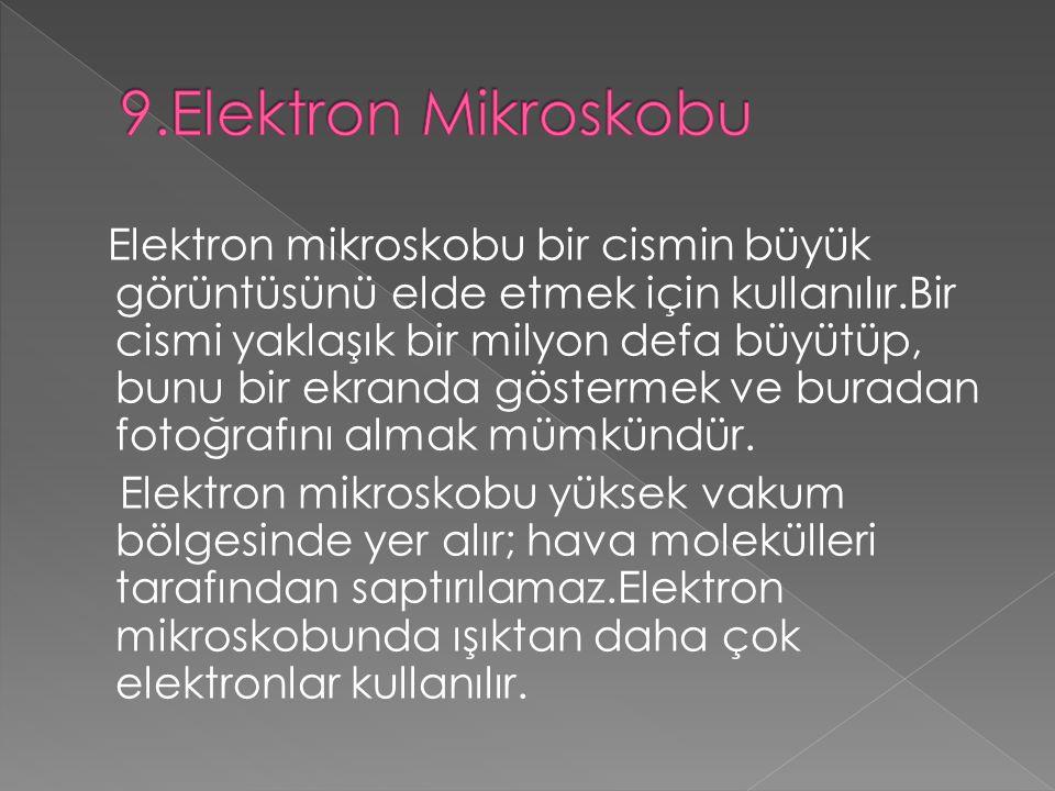 9.Elektron Mikroskobu