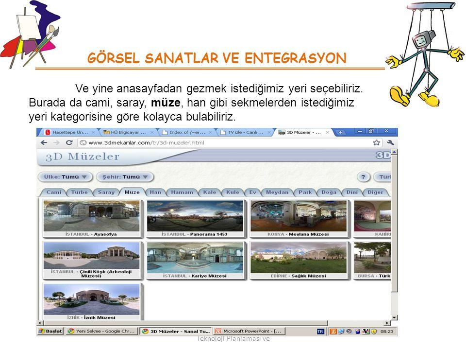 KoordinasyonuBTÖ 427 : Okullarda Teknoloji Planlaması ve