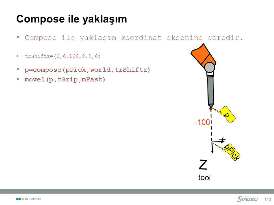 Z tool Compose ile yaklaşım