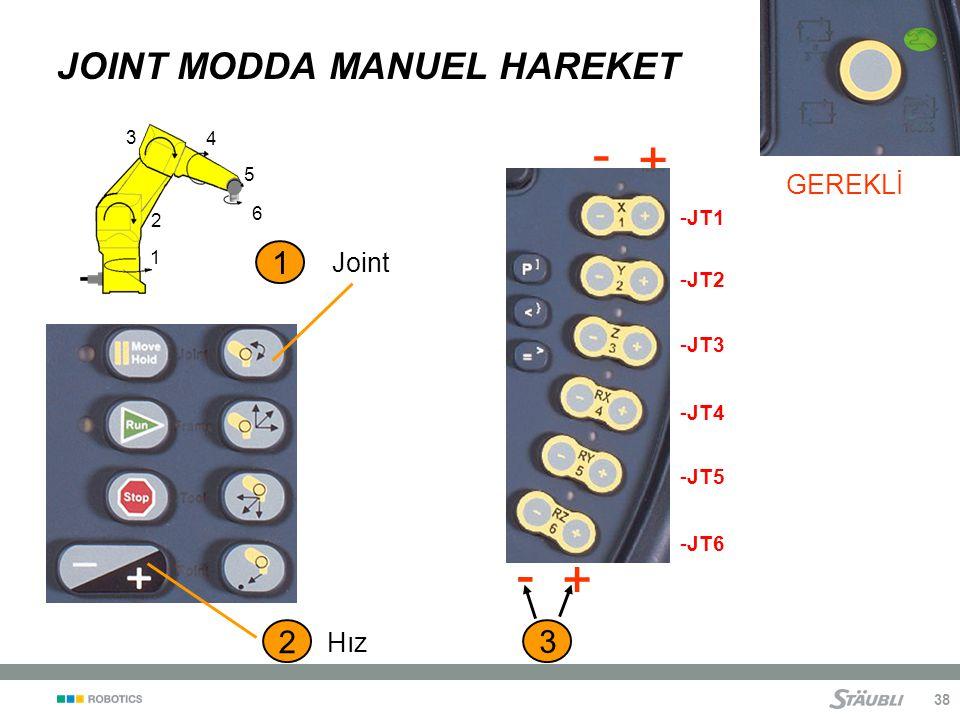 JOINT MODDA MANUEL HAREKET