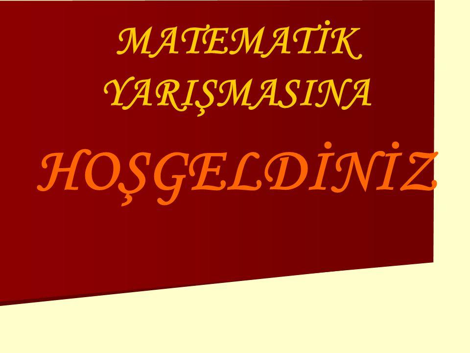 MATEMATİK YARIŞMASINA