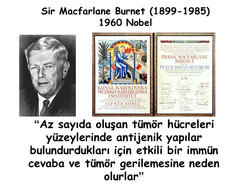Sir Macfarlane Burnet (1899-1985)