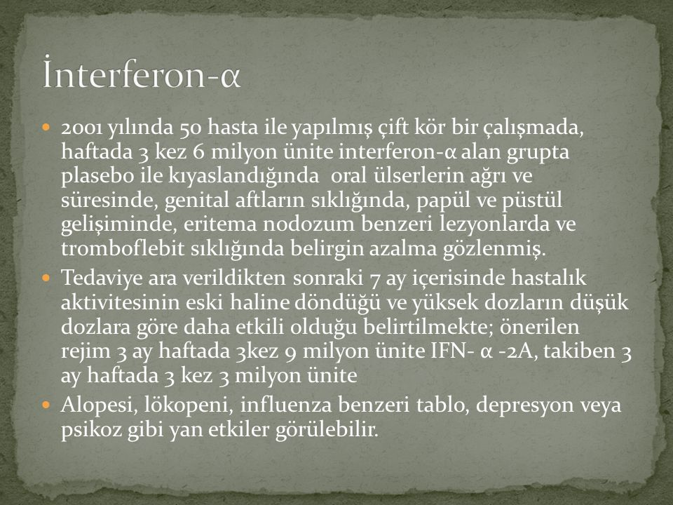 İnterferon-α