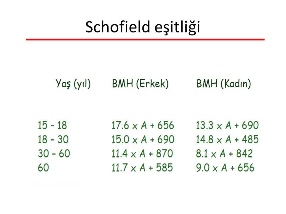 Schofield eşitliği