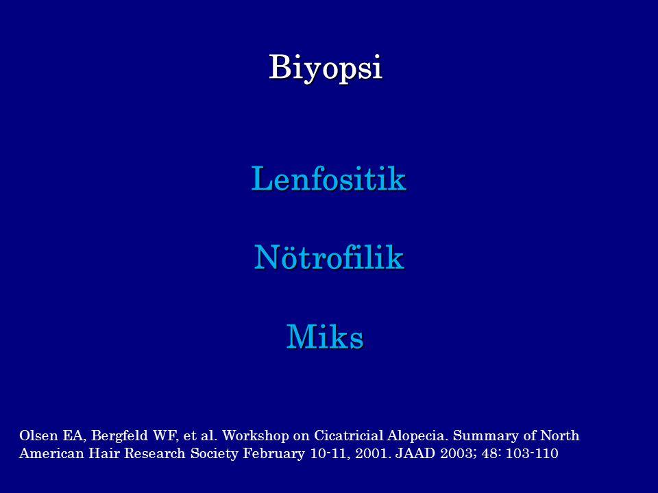 Biyopsi Lenfositik Nötrofilik Miks