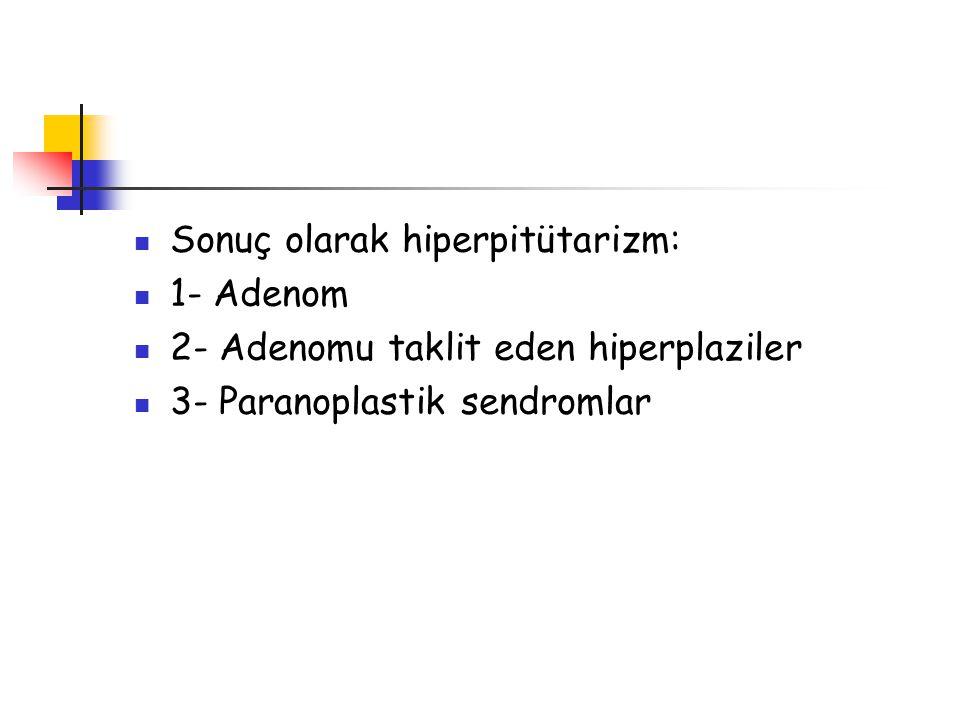 Sonuç olarak hiperpitütarizm: