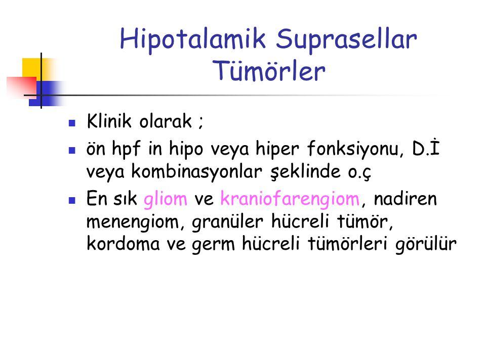 Hipotalamik Suprasellar Tümörler