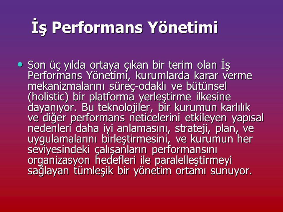 İş Performans Yönetimi