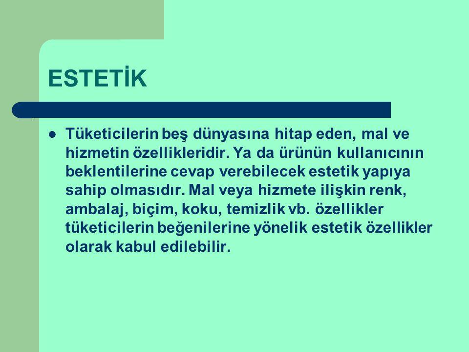 ESTETİK