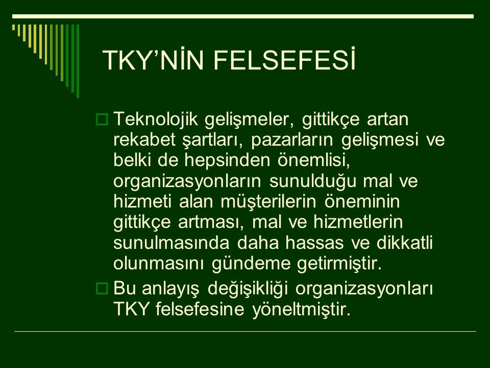 TKY'NİN FELSEFESİ