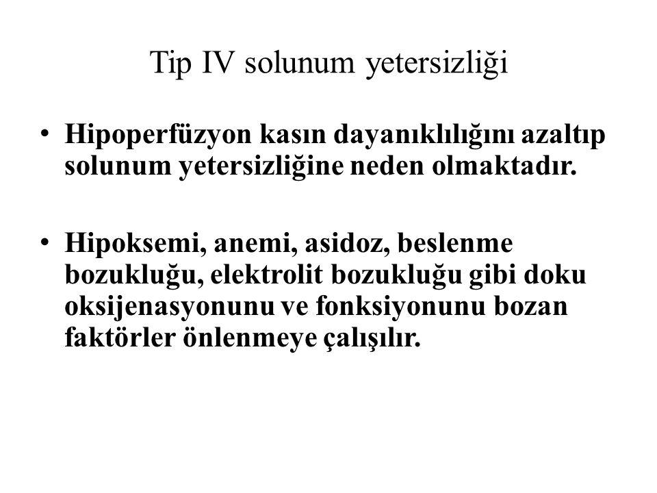 Tip IV solunum yetersizliği