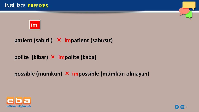 patient (sabırlı) × impatient (sabırsız)