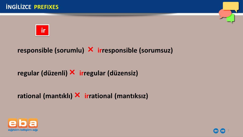 responsible (sorumlu) × irresponsible (sorumsuz)