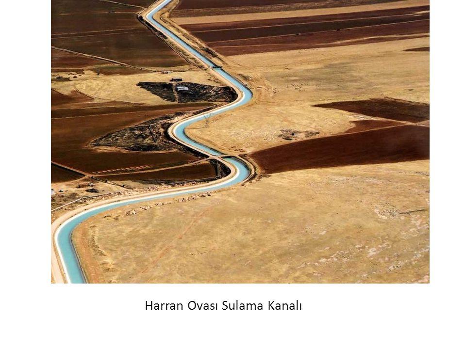 Harran Ovası Sulama Kanalı