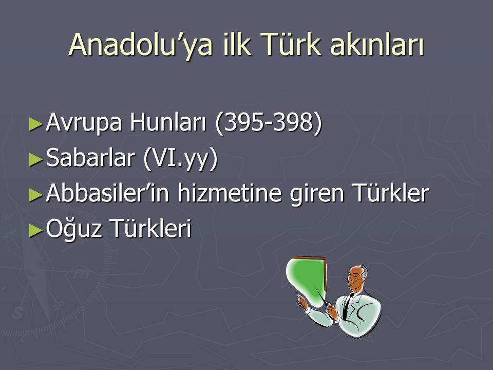Anadolu'ya ilk Türk akınları