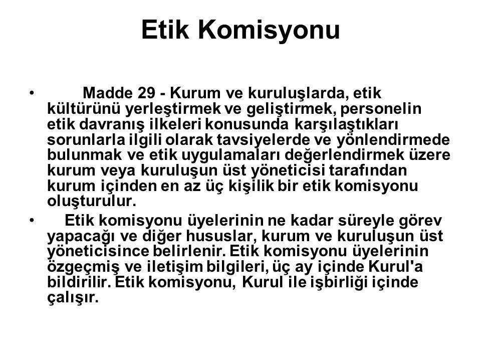 Etik Komisyonu