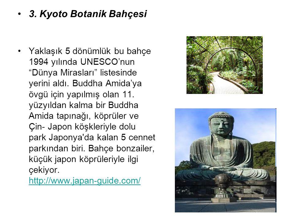 3. Kyoto Botanik Bahçesi