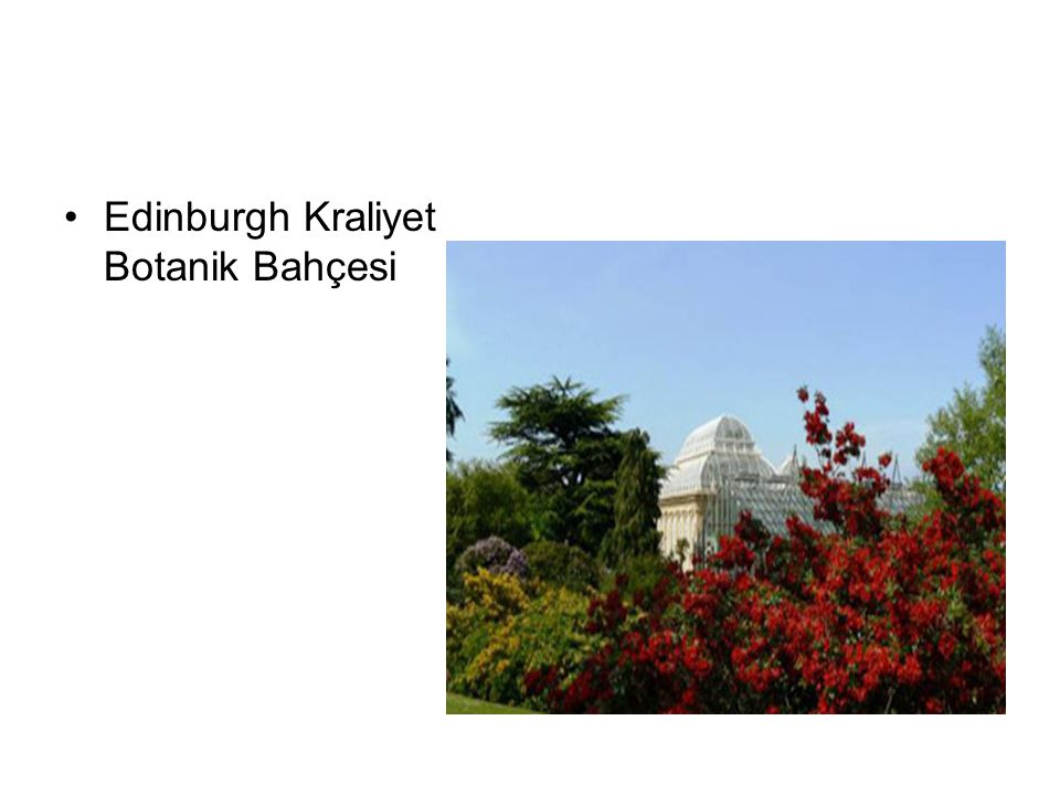 Edinburgh Kraliyet Botanik Bahçesi