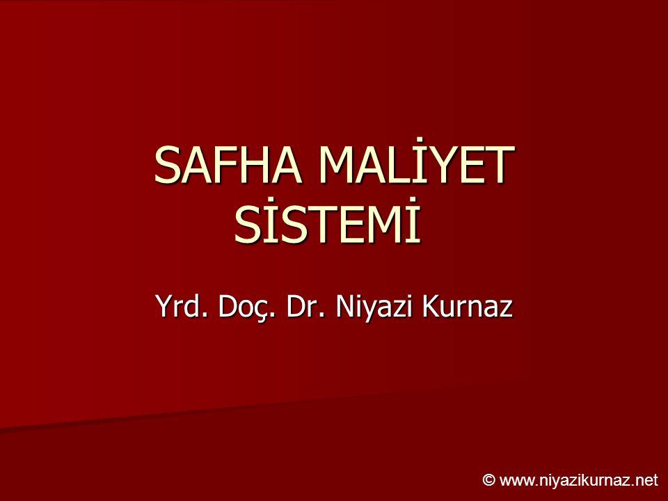 Yrd. Doç. Dr. Niyazi Kurnaz