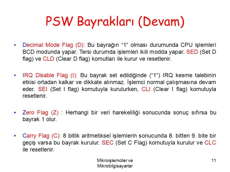 PSW Bayrakları (Devam)