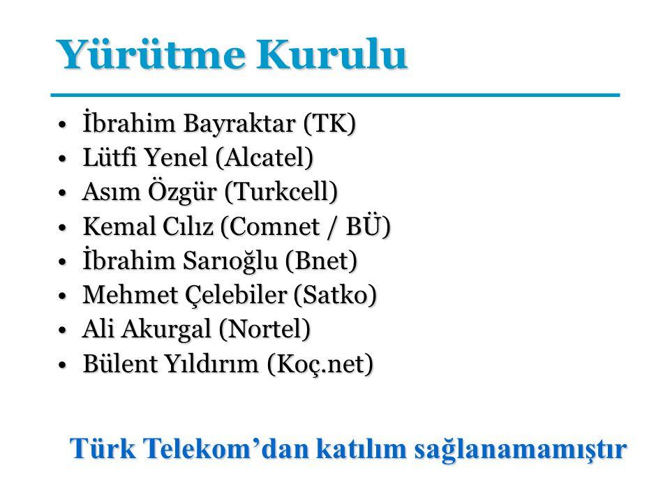 Türk Telekom'dan katılım sağlanamamıştır