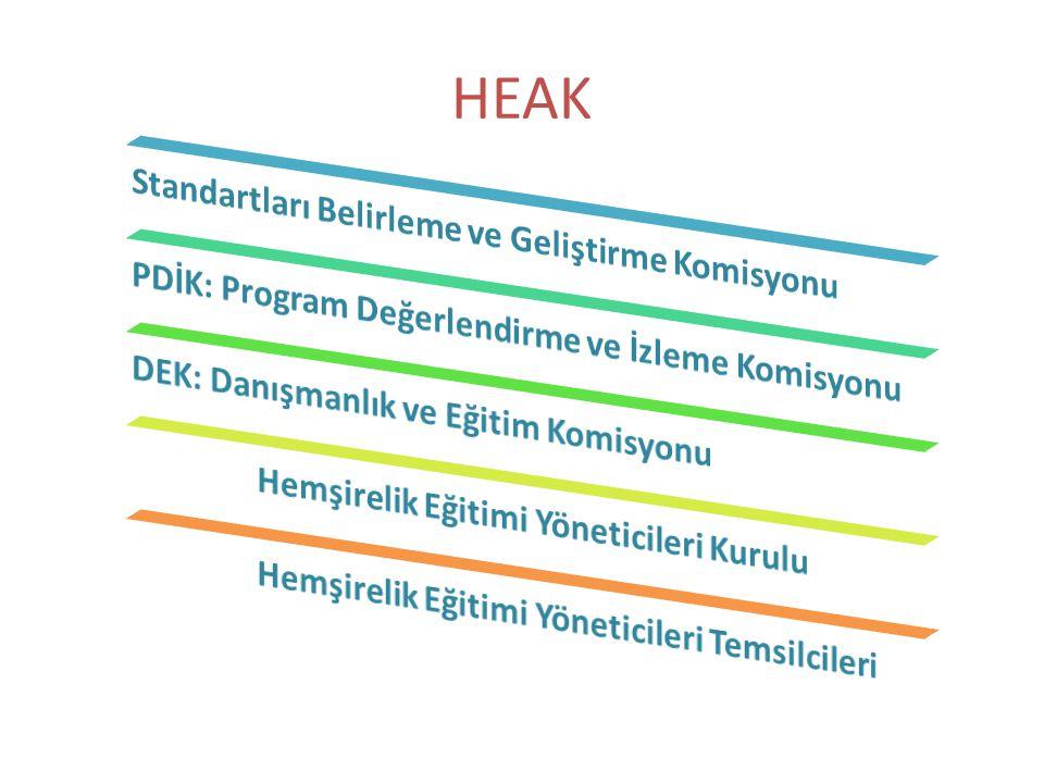 HEAK Standartları Belirleme ve Geliştirme Komisyonu