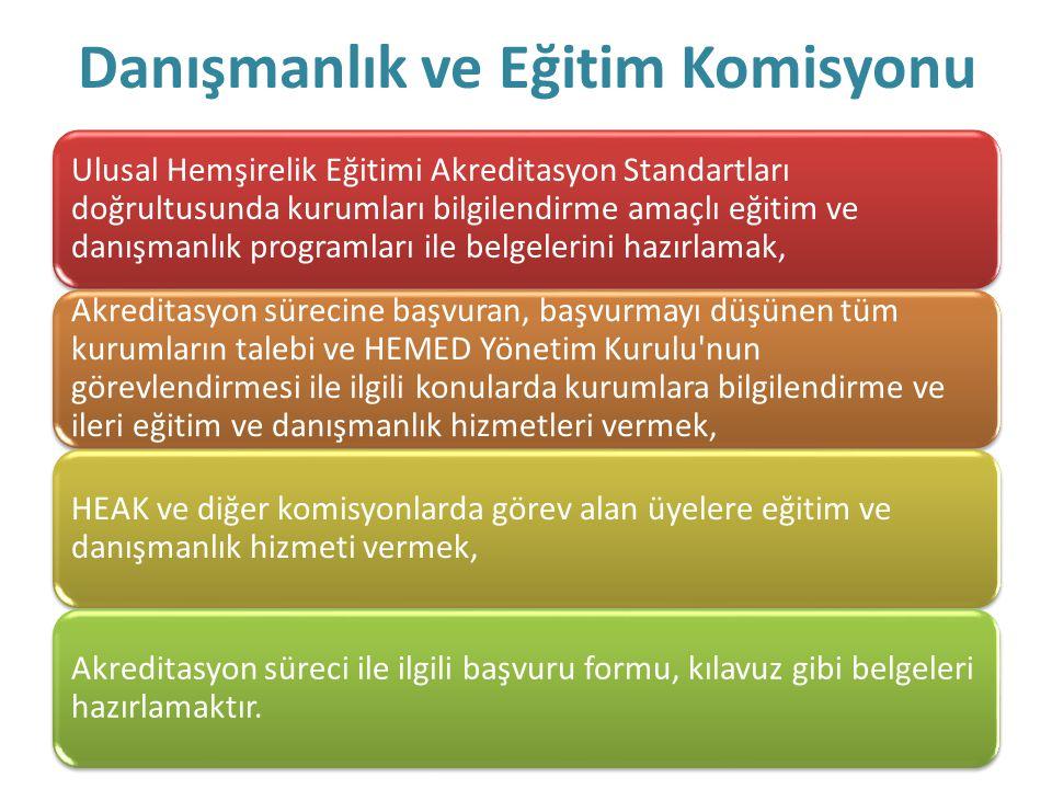 Danışmanlık ve Eğitim Komisyonu